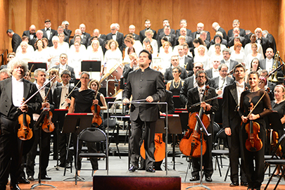 The Basque National Orchestra opens its season welcoming Robert Treviño, its new music director