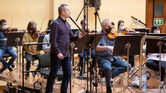 Garikoitz Mendizabal with the Basque National Orchestra (Photo: Juantxo Egaña)