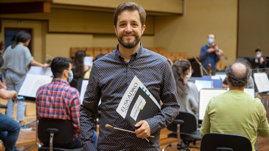 Jaume Santonja, new Associate Conductor of the Basque National Orchestra