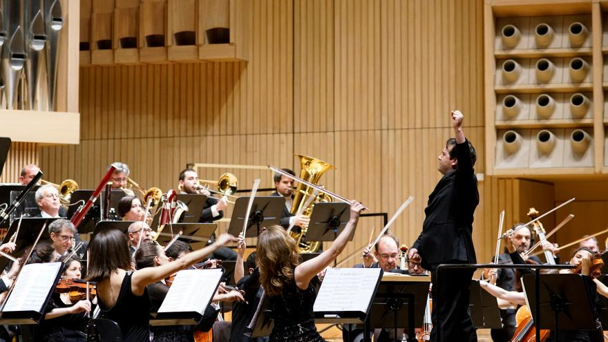 """""""Brilliant"""" orchestra on the banks of the Danube"""