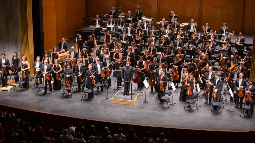 Thrilling premiere of the Basque National Orchestra at the Théâtre des Champs-Élysées in Paris