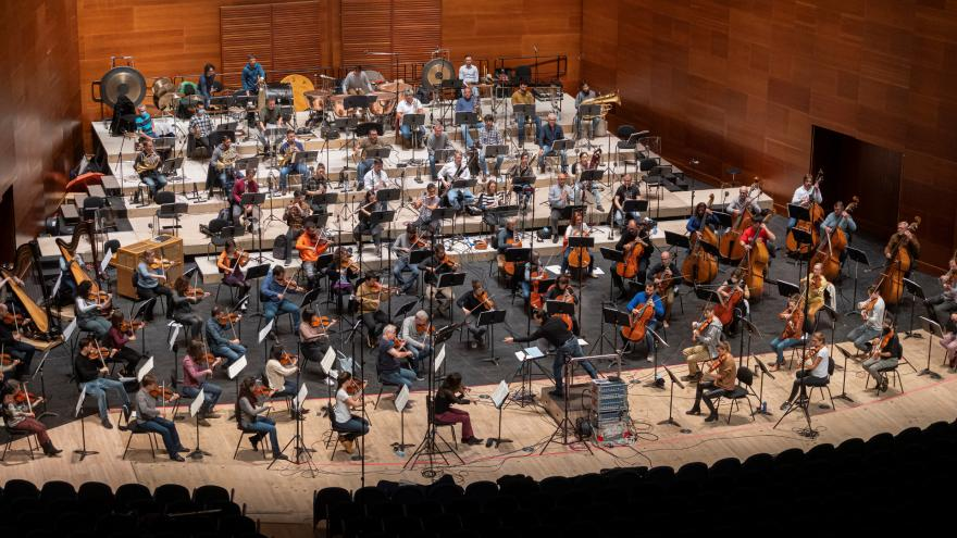 The Basque National Orchestra and Robert Trevino record together for the first time