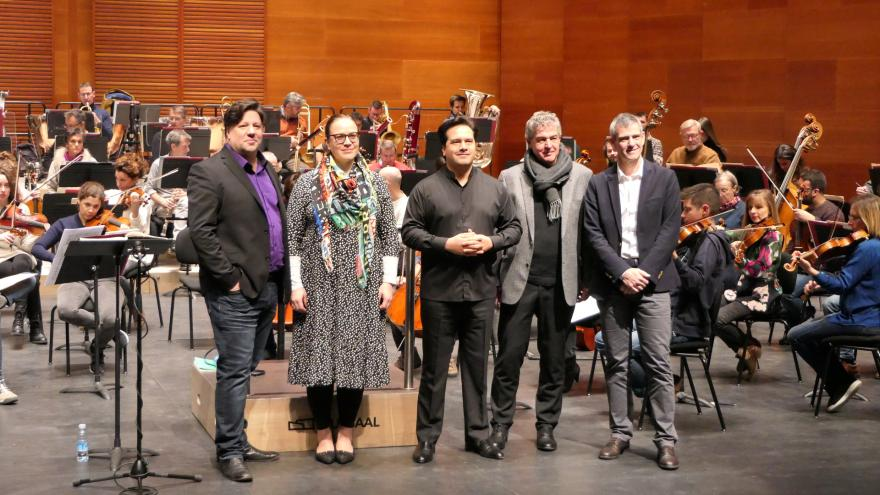 Paris and Istanbul: Double international première of the Basque National Orchestra in 2020