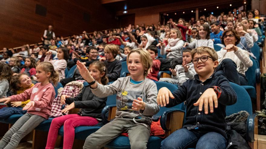 2.500 ikaslek ikus ahal izango dute Euskadiko Orkestra Sinfoniko osoa 'Urrutiko Lurraldeak' programan